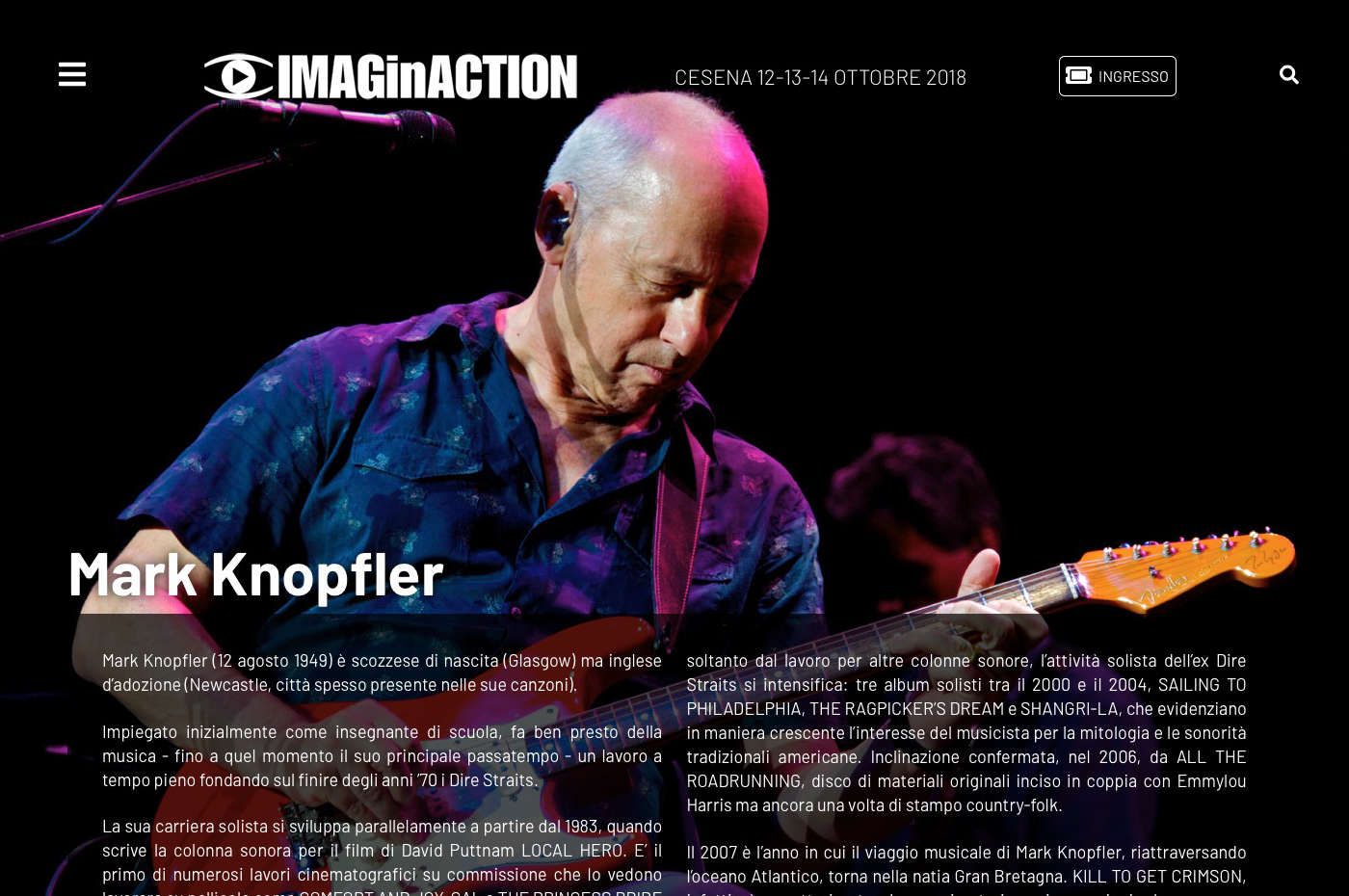 IMAGinACTION - Mark Knopfler