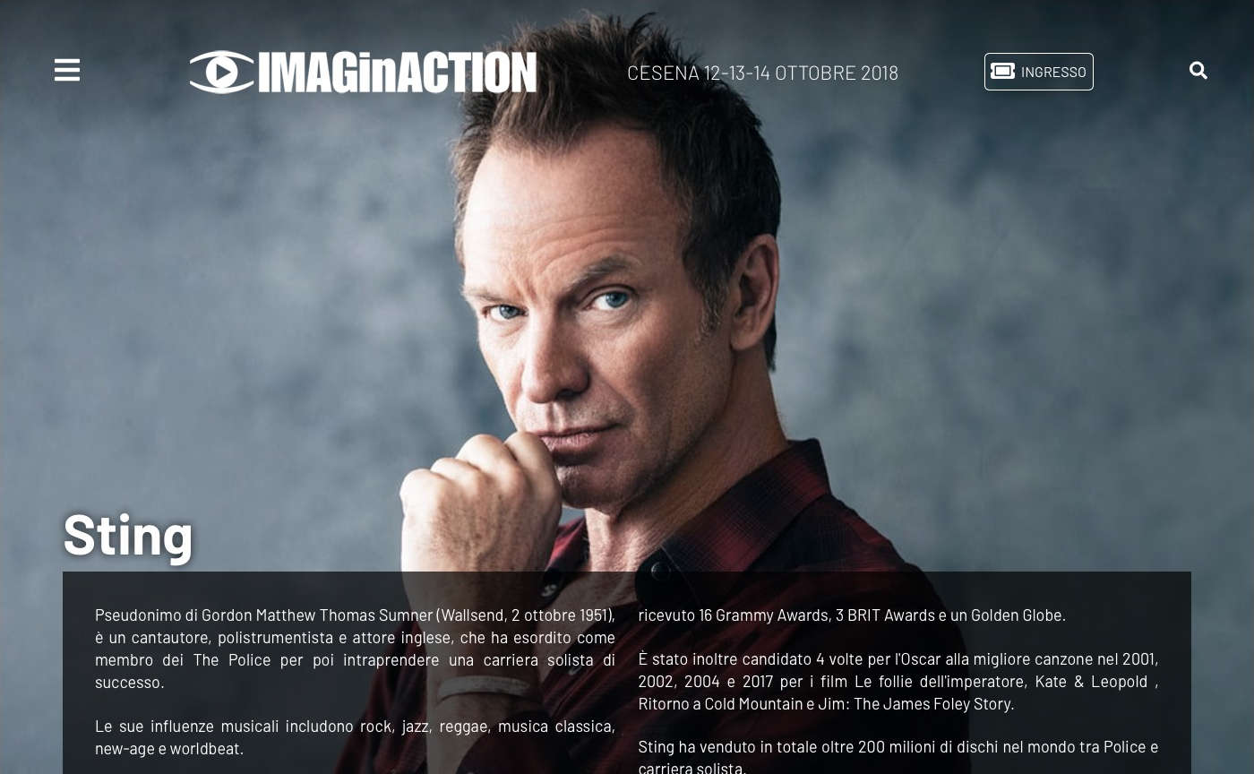 IMAGinACTION - Sting